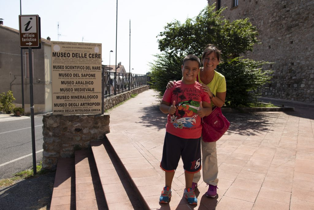 Rocca Imperiale con i bambini