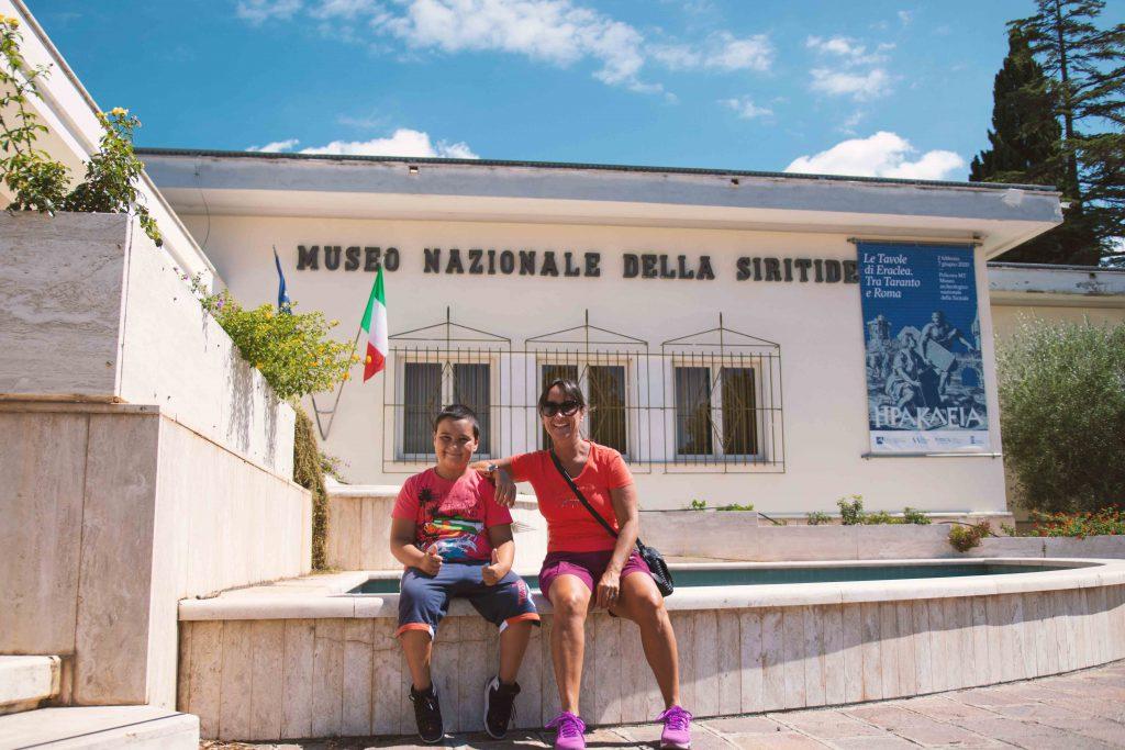 Museo della Siritide con i bambini a Policoro