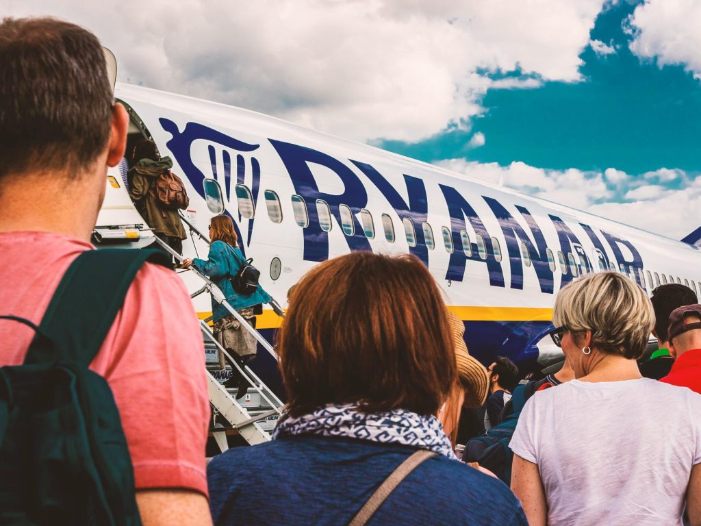 Check-in Ryanair online ed imbarco