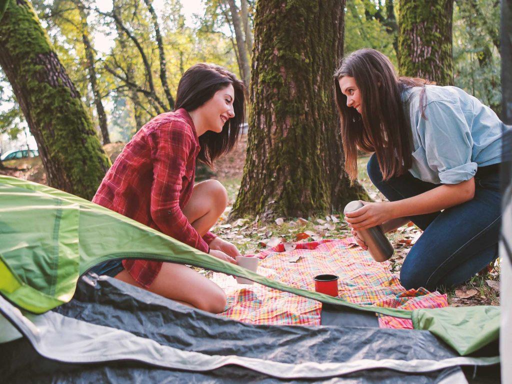 Momcation: vacanze per sole mamme in campeggio