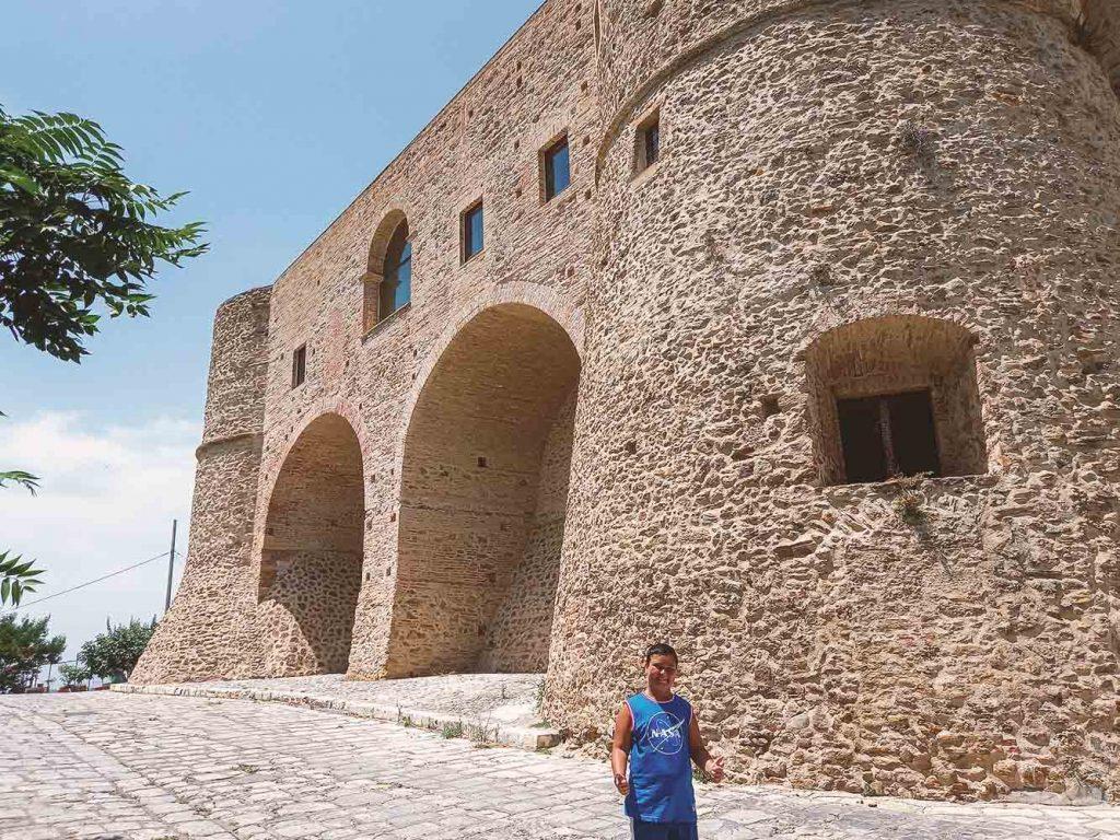 Castello di Bernalda con i bambini