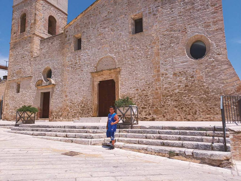 Castello Aragonese di Bernalda con i bambini